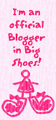 I am an official Blogger in Big Shoes!