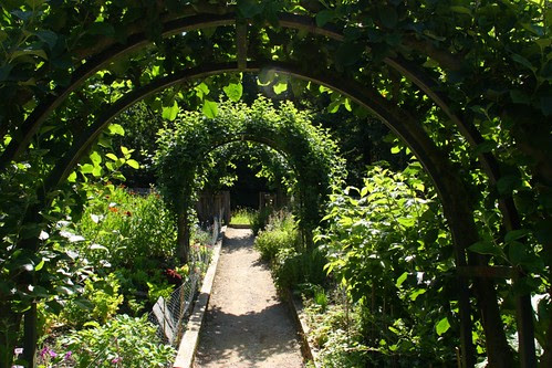 Arches in the Cottage Garden at Chatsworth