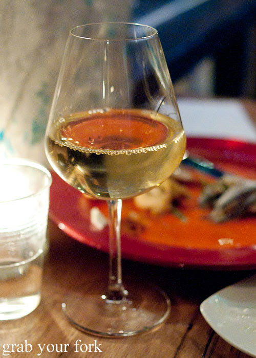 house white wine at buffalo dining club darlinghurst