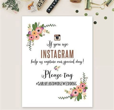 How to create a wedding hashtag   Easy Weddings