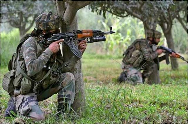 जम्मू-कश्मीर :पुंछ में पाकिस्तान ने फिर किया सीजफायर का उल्लंघन