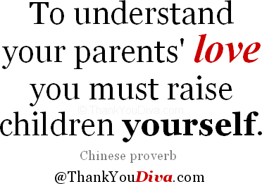 Thank You Quotes For Parents Saying Thank You To Mom Dad