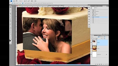 Photoshop Tutorial: Creative Wedding Album Design by Mark