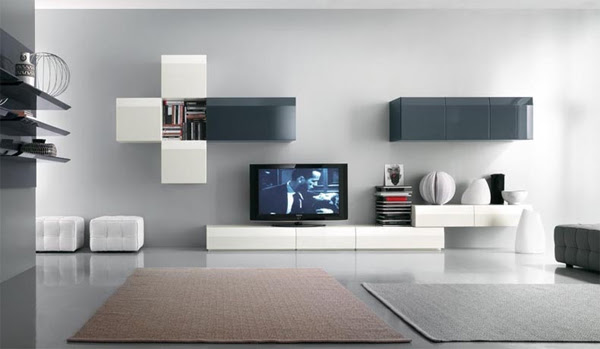 modern-tv-stands-design-with-wall-system-furniture | Home Design ...