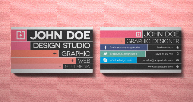002 graphic designer business card template vol 2