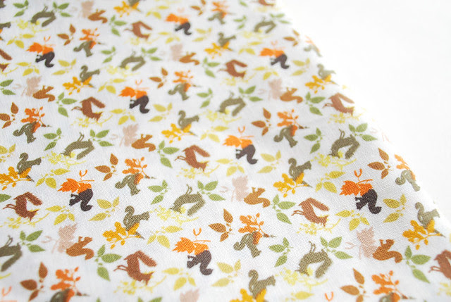 the cutest fall fabric