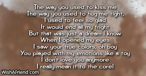 Sad Love Poems For Him