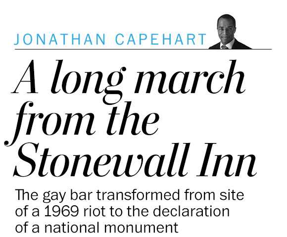 The long march from the Stonewall Inn
