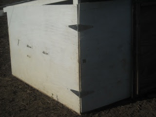 Got Shed Redesign Main Door Hinges