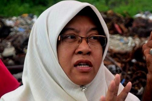 Ketua Muslimat Pas Selangor jangan serang MB Azmin - Haniza Talha