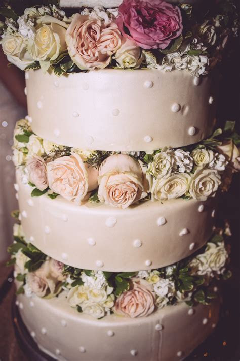 Real or fake flowers on cake