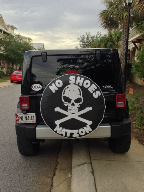 Spare Tire Cover Monogram Pirate Flag Jeeps Jeep