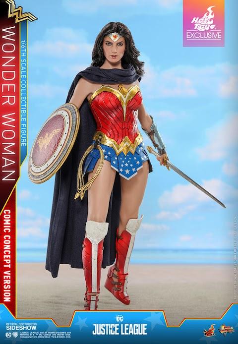 Wonder Woman Comic Concept Version