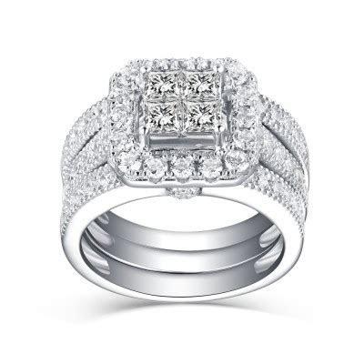Bridal Rings, Cheap Wedding Rings for Her & Him   Lajerrio