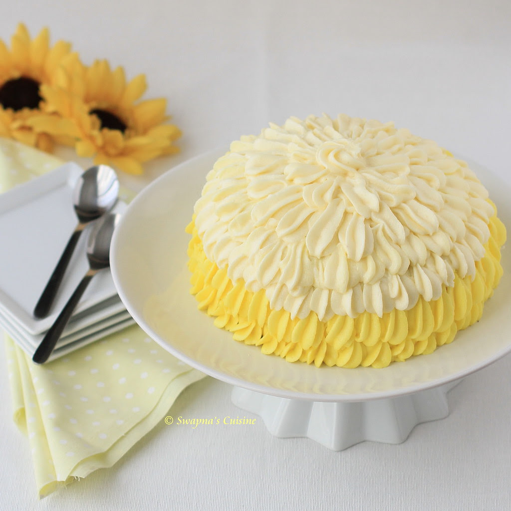 How to frost a cake with shell tip