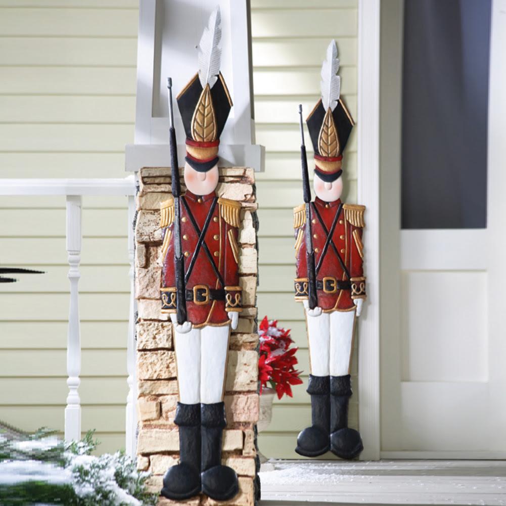 Outdoor Christmas Decoration Nutcracker - Hallow Keep Arts