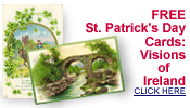 free vintage St. Patrick's Day Ireland old postcards