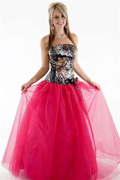 3658GN Ball Gown Glitter Net Camouflage Prom Wedding