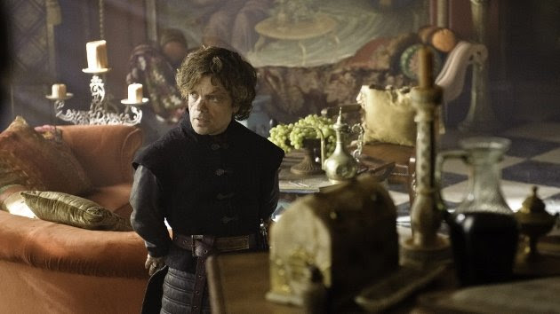 The Lannister clan's battle with the Starks is reminiscent of the Lancasters' with the Yorks during the War of the Roses. Peter Dinklage plays Tyrion Lannister. (Photo by Helen Sloan/HBO)