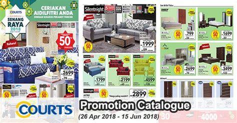 courts senang raya  furniture promotion catalogue