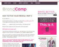 Brand Camp Blog