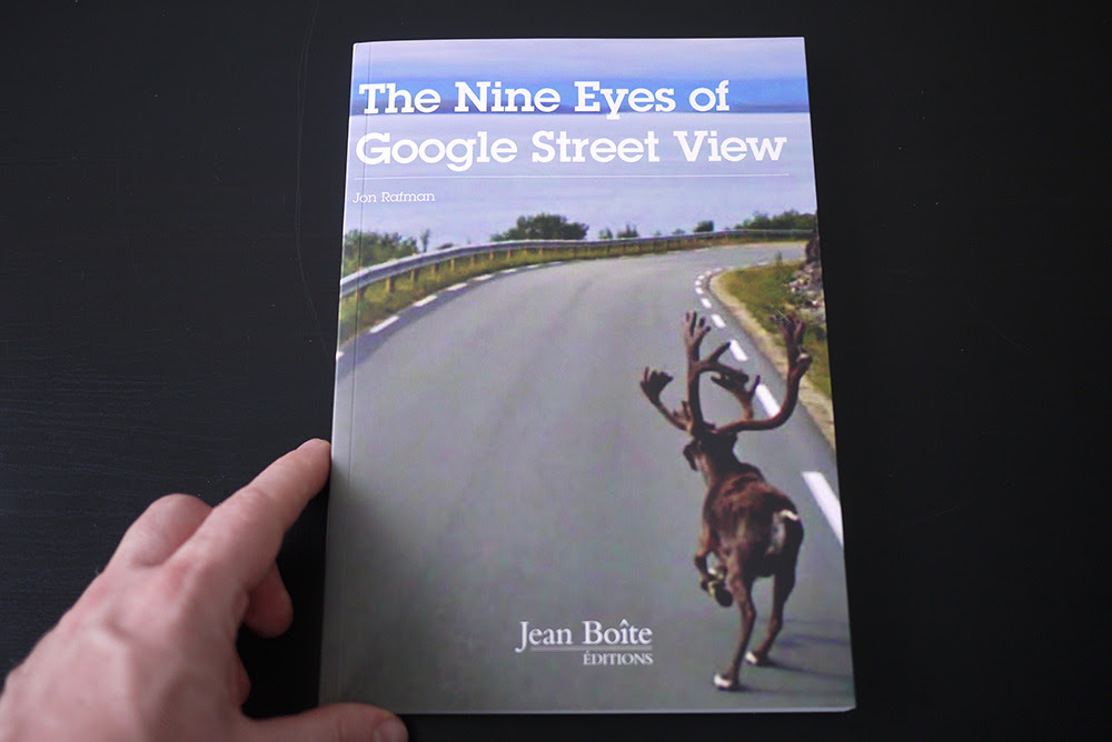 Rafman, Jon. The Nine Eyes of Google Street View. Jean Boîte Éditions, Paris, 2011, 160 pages.