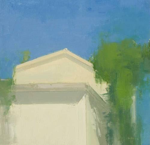 Stuart Shils, Umbria Farmhouse on the Raod up to Corciano, 2008