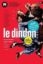 Le dindon Théâtre de la Porte Saint Martin Affiche
