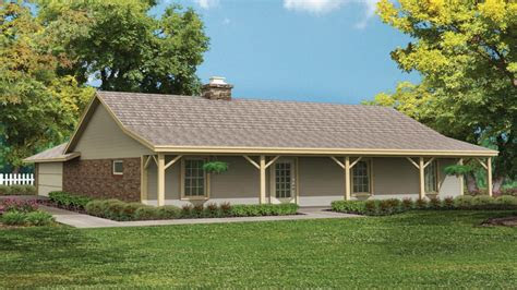 open ranch style house plans   world home