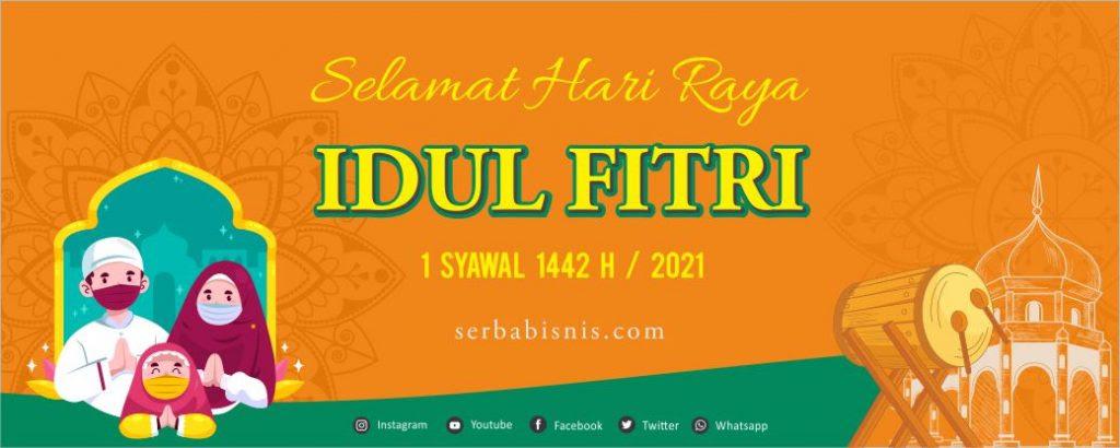 Desain Banner Spanduk Idul Fitri – SerbaBisnis
