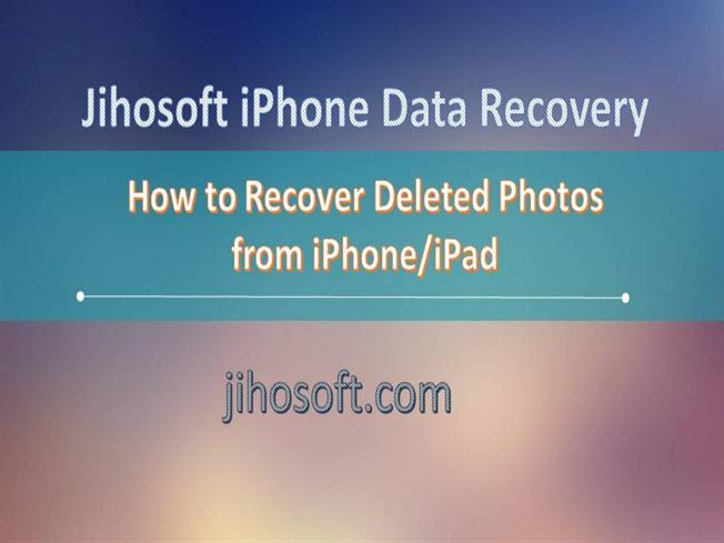 How to Recover Deleted Photos from Iphone\/Ipad authorSTREAM