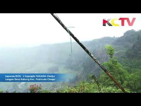 KABARCIANJUR.TV | Longsor Desa Kubang Kec. Pasirkuda Cianjur