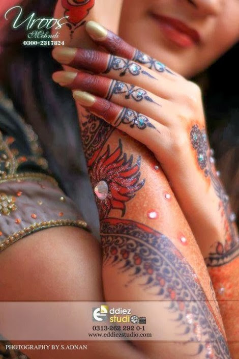 Beautiful-Eid-Mehndi-Designs For-Hand-Feet-Arabic-Henna-Mehndi-Designs-Bridal-Wedding-15