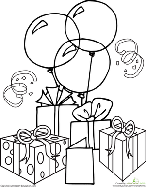 4 best images of 1st birthday coloring pages printables