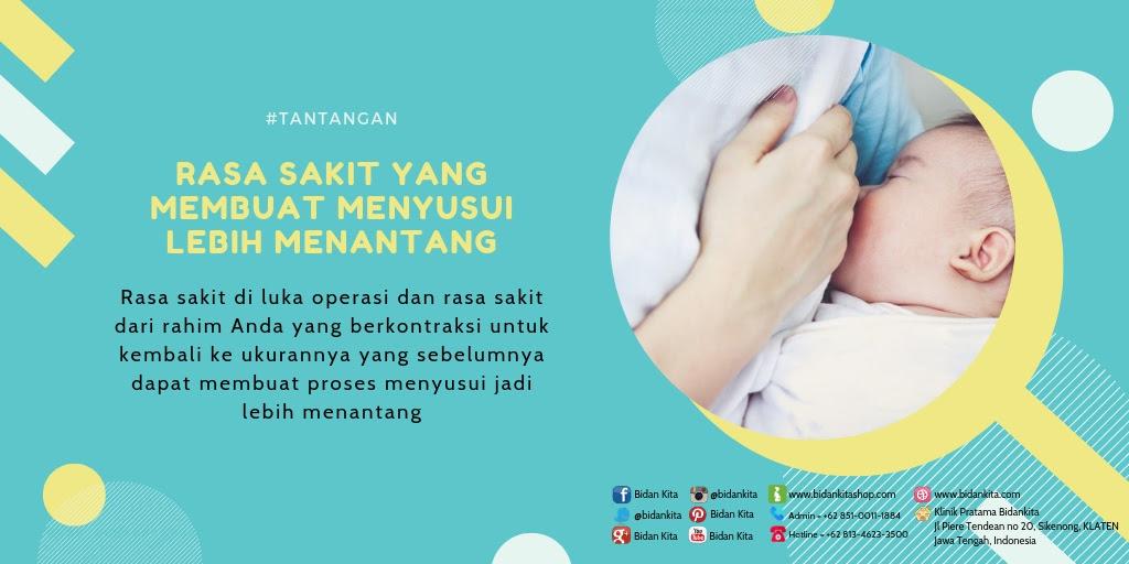 Saat ini tingkat Operasi Caesar di Indonesia terus menerus meningkat Apakah Operasi Caesar dapat Mempengaruhi Masa Menyusui?