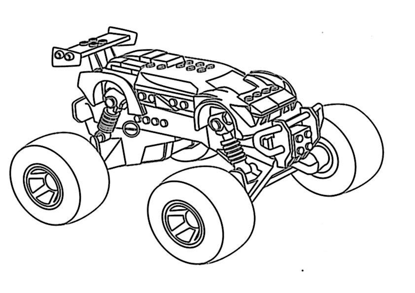 Ausmalbilder Kinder Monster Truck 10 Ausmalbilder Fur Kinder