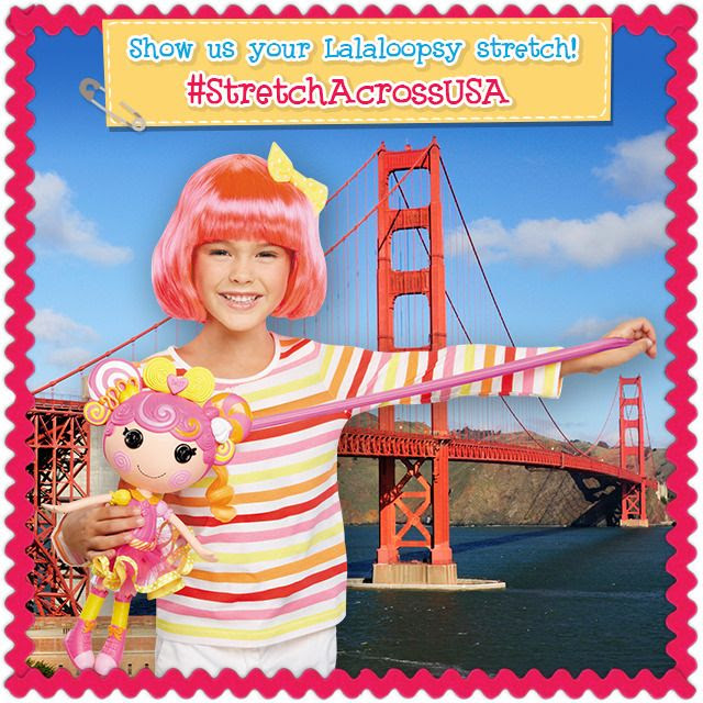 Stretch Across America with Lalaloopsy at artsyfartsymama.com #Lalaloopsy #‎StretchAcrossUSA‬