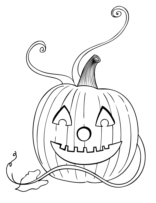 Halloween Coloring Pages   Make and Takes