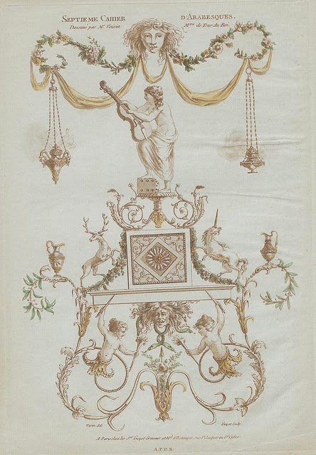 Nouvelle collection d'arabesques, 1810 e