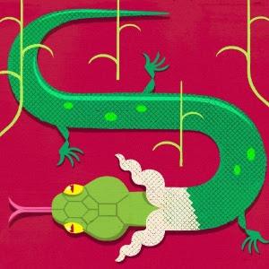 Fósseis recém-descobertos com aproximadamente 140 milhões de anos indicam que o desenvolvimento do crânio e da mandíbula, não a falta de membros, diferenciou a evolução das cobras da evolução dos lagartos