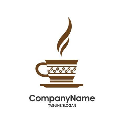 creative coffee  cafe logos design vector