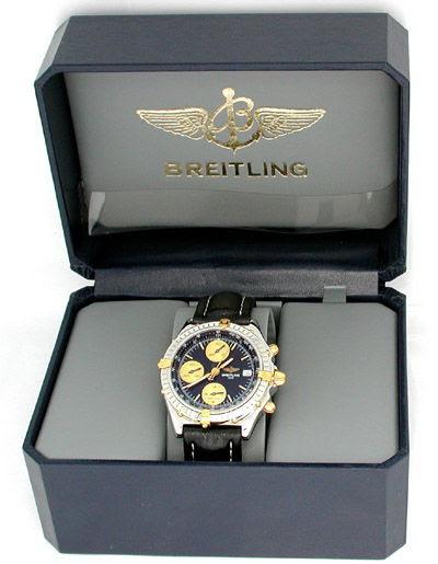 Foto 3, Orig. Hr-Breitling-Chronomat St/G Shop! Neuw. Portofrei, U1853