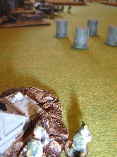 Sakhans take aim with anti-tank weapon