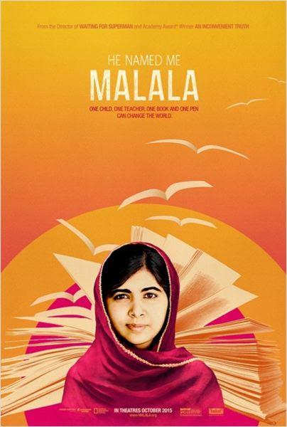 Él me llamó Malala : Cartel