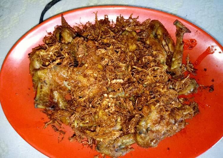 tutorial memasak ayam serundeng resep enak indonesia Resepi Ayam Paprik Istimewa Enak dan Mudah