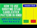 shooting star candlestick pattern in hindi
