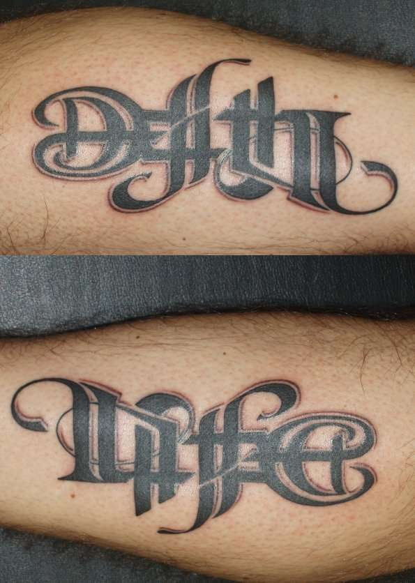 Life And Death Tattoo