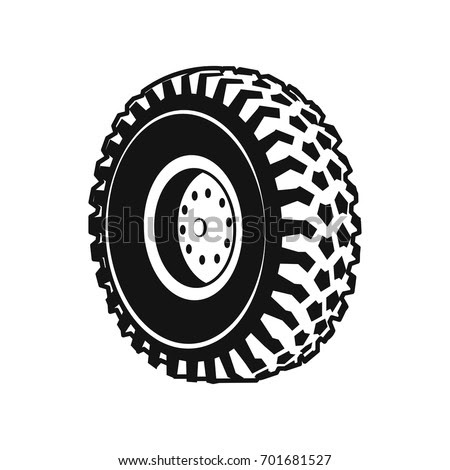 Tire Wheel Collection Stock Vector 88014265 Shutterstock