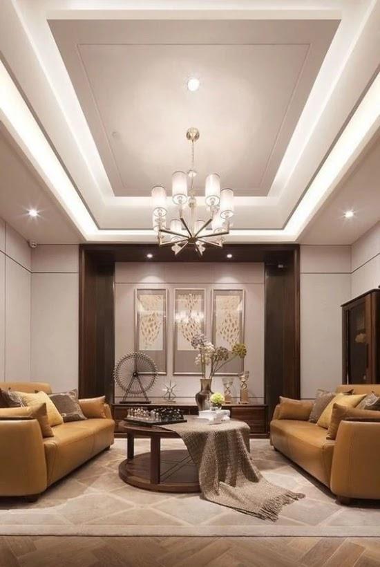 Motif Plafon Ruang Tamu Minimalis | Ide Rumah Minimalis