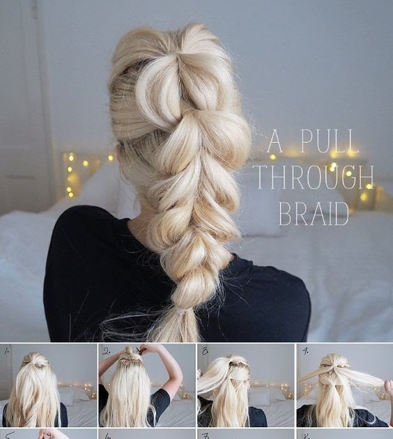 Braided Hairstyles: Braids are often deemed as the simplest, easiest hairstyle practically ...